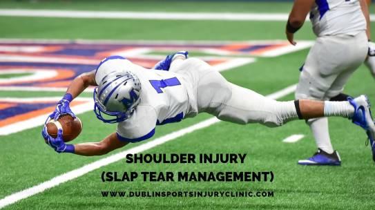 Shoulder Injury (SLAP Tear Management?)
