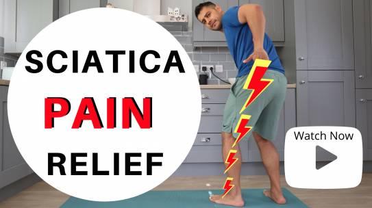 4 TOP EXERCISES FOR SCIATICA PAIN RELIEF