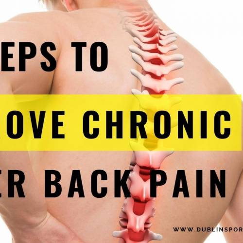 4 steps to improve chronic lower back pain